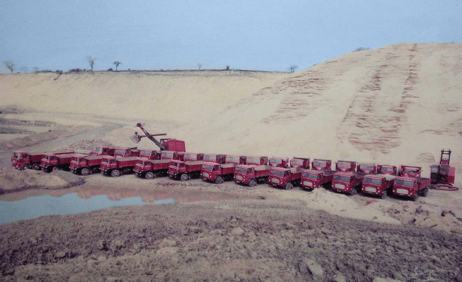 Sheards Sand trucks Congleton