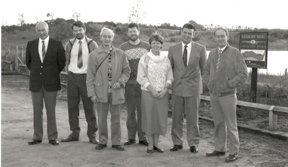 Astbury Mere Trustees in 1988