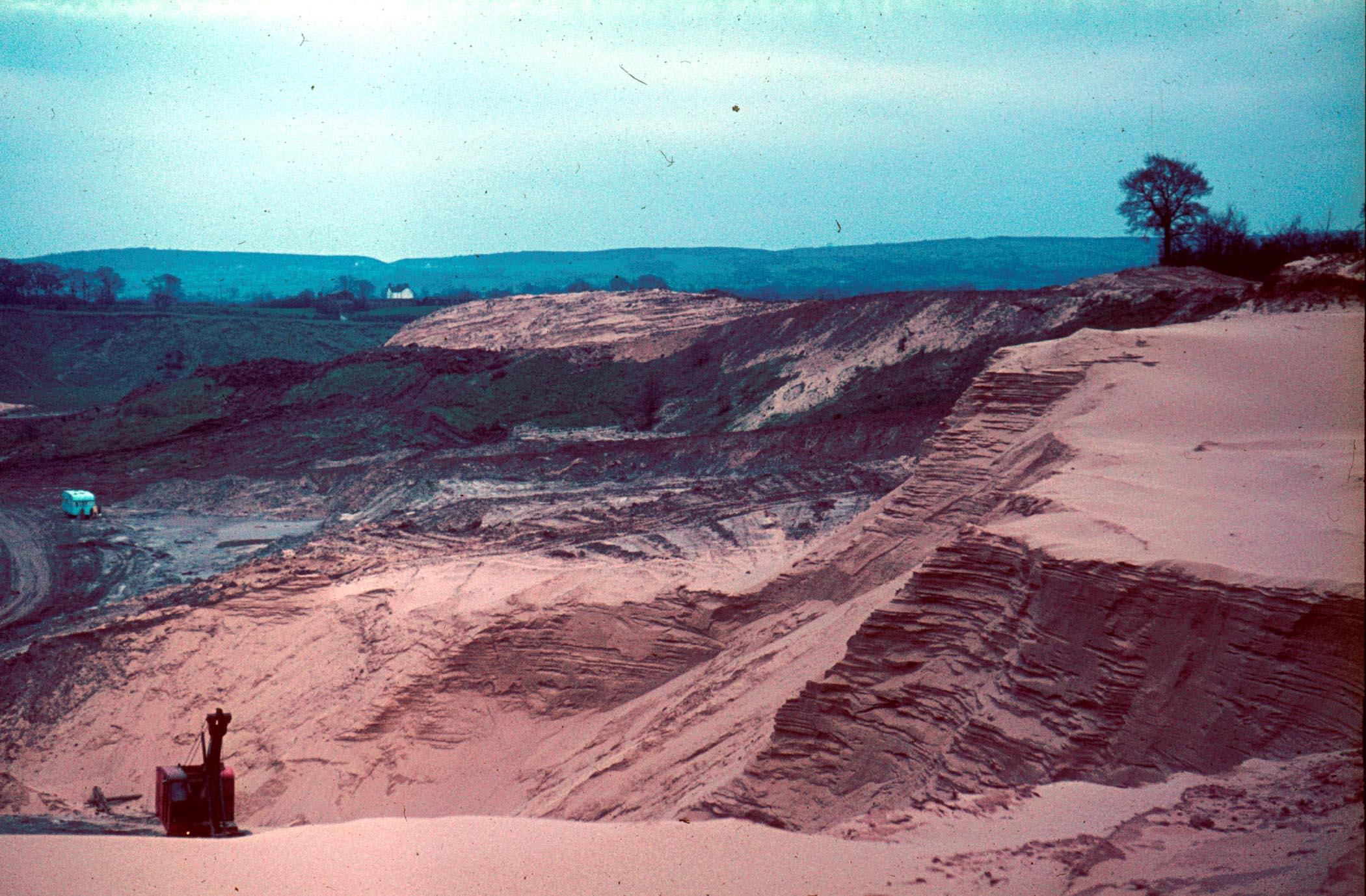 West Heath Sand Quarry 1971