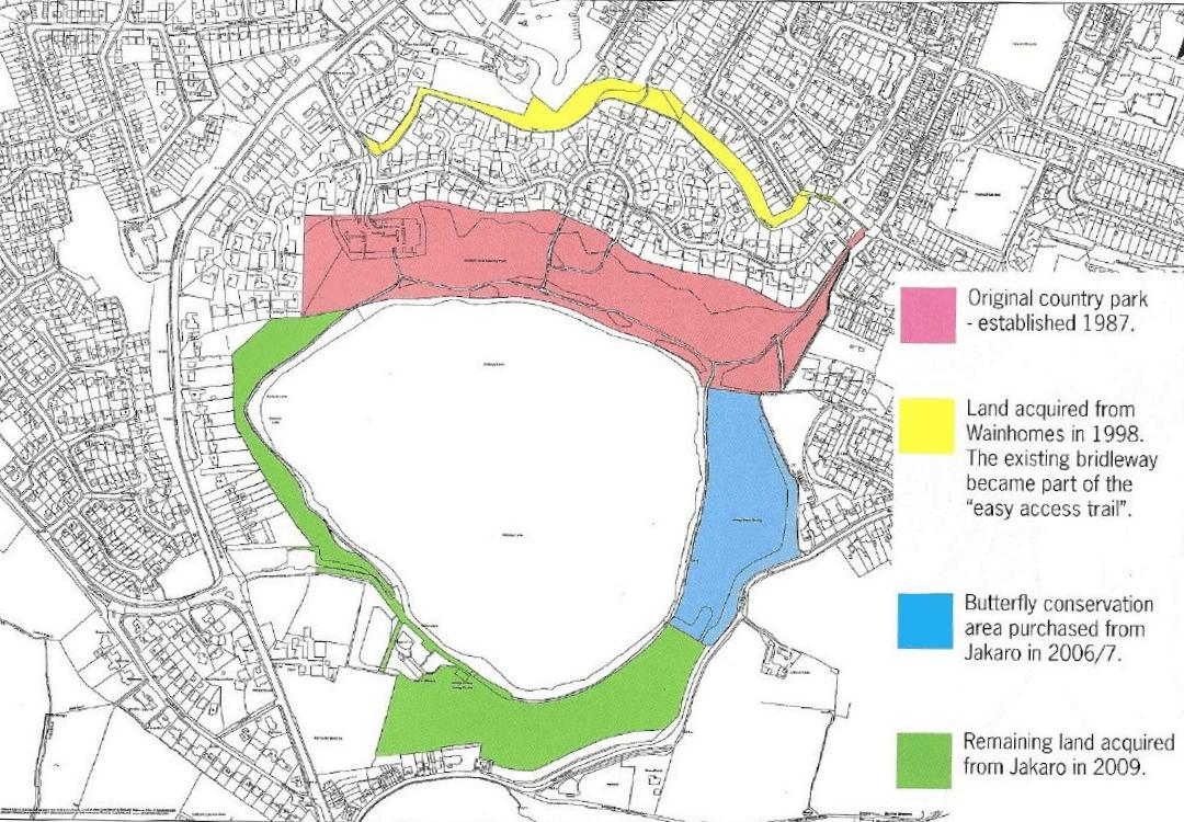 Astbury Mere Land ownership history