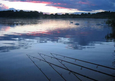 Night fishing at Astbury Mere Congleton