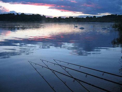 Night fishing at Astbury Mere Congleton