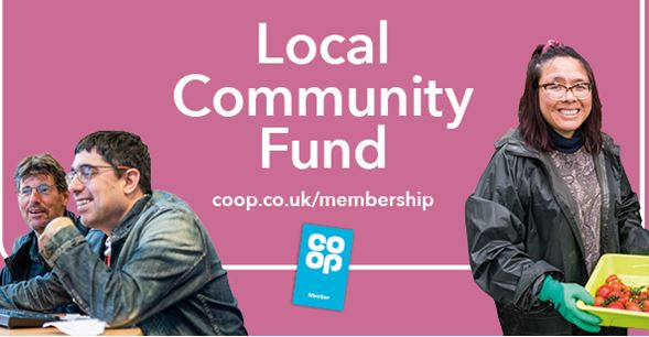Co-op Local Community Fund Support Astbury Mere!